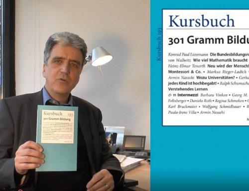 """Prof. Dr. Heiner Barz schreibt im neuen KURSBUCH über """"Reformpädagogik 4.0"""""""