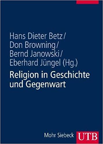 Religion in Geschichte und Gegenwart, Heiner Barz