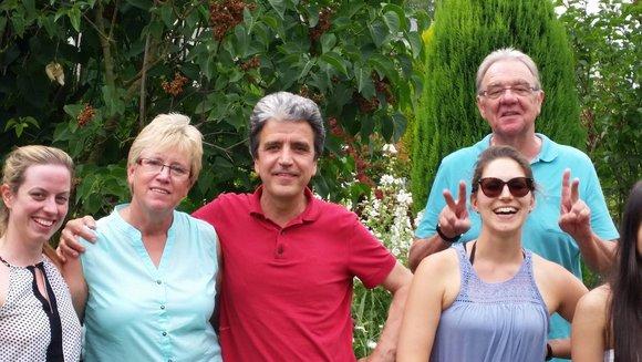 Abteilungsausflug: Gartenparty bei Irmgard Hestermann