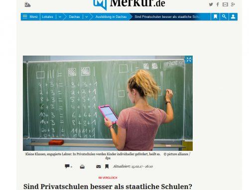 Merkur.de: Sind Privatschulen besser als staatliche Schulen?