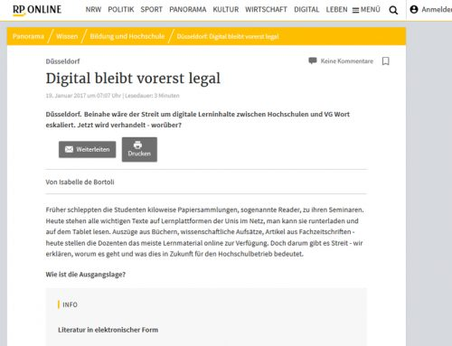 RP Online: Digital bleibt vorerst legal