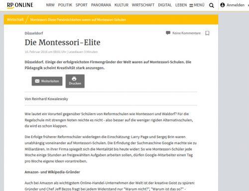 RP Online: Die Montessori-Elite