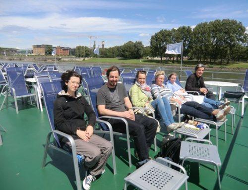 Abteilungsausflug: Haus der Geschichte Bonn und Bootsfahrt zum Drachenfels