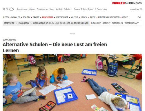 WAZ Online: Alternative Schulen – Die neue Lust am freien Lernen