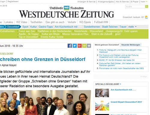 WZ Online: Schreiben ohne Grenzen in Düsseldorf