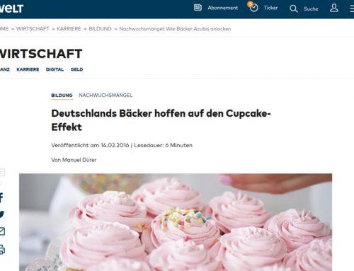 Welt Online: Deutschlands Bäcker hoffen auf den Cupcake-Effekt