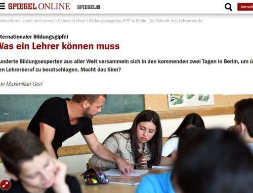 Spiegel Online: Heiner Barz kommentiert zum internationalen Bildungsgipfel in Berlin