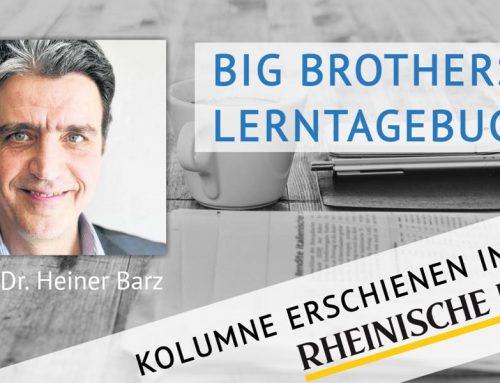 Big Brothers Lerntagebuch