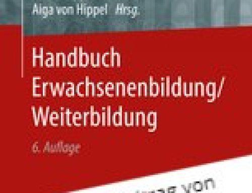 Handbuch Erwachsenenbildung/ Weiterbildung (2018)