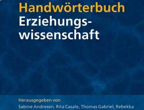 Handwörterbuch Erziehungswissenschaft (2009)