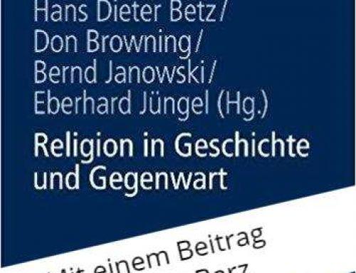Religion in Geschichte und Gegenwart (2008)