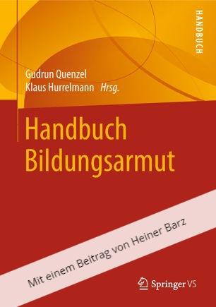 Bildungsarmut, Heiner Barz